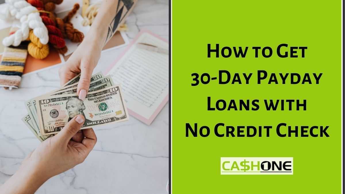 30-Day Payday Loans
