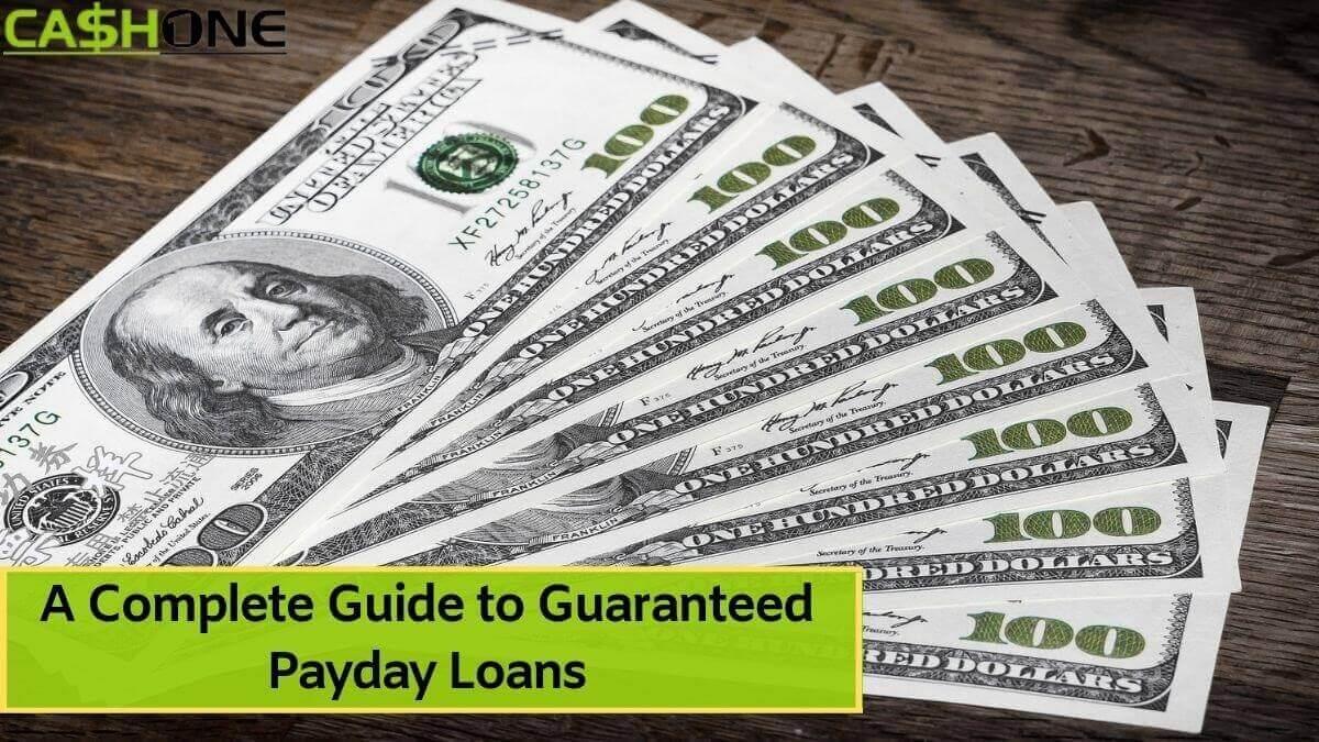 Guaranteed Payday Loans