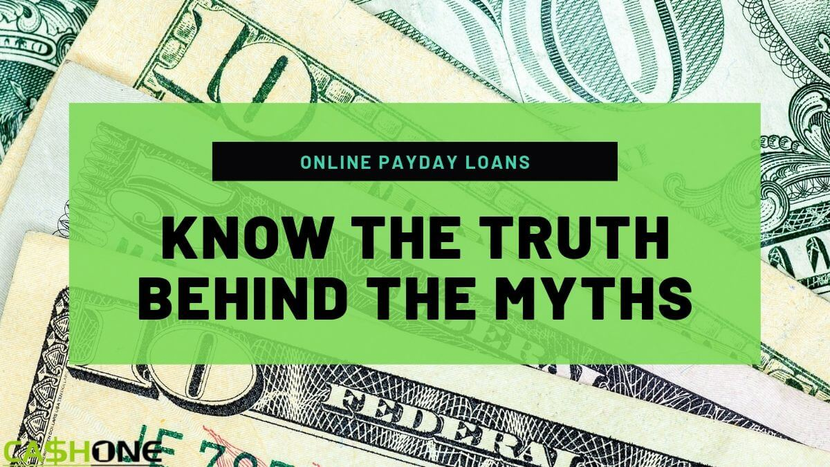 Online Payday Loan Myths
