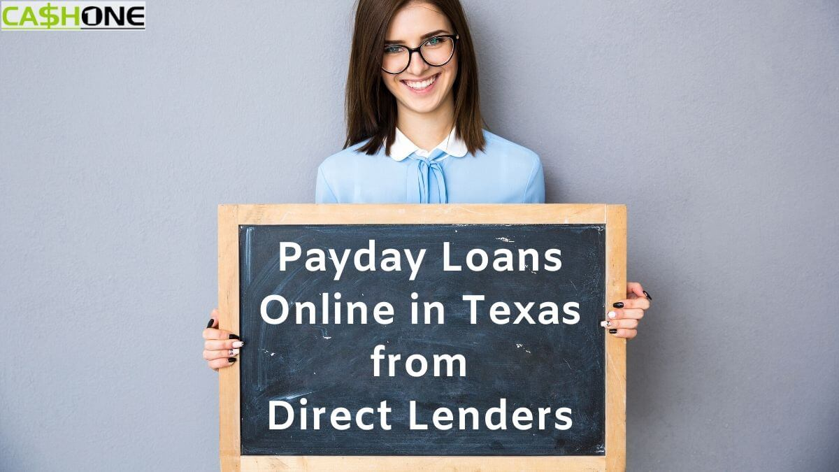 Online payday loans Texas direct lenders