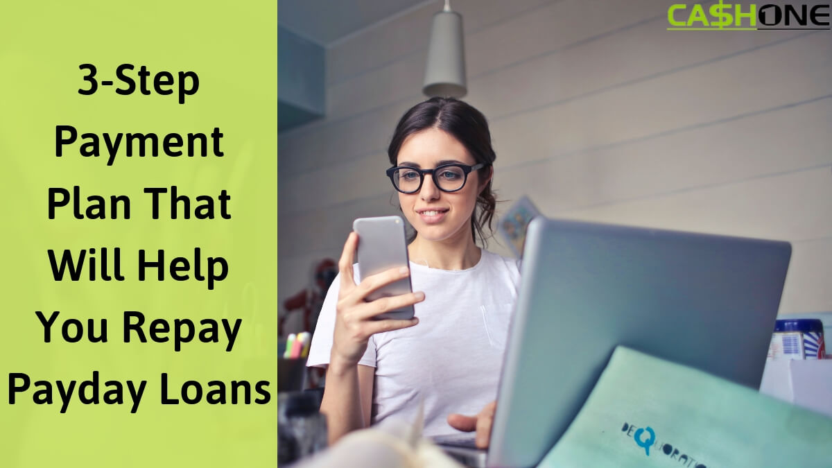 Payday loan repayment plan