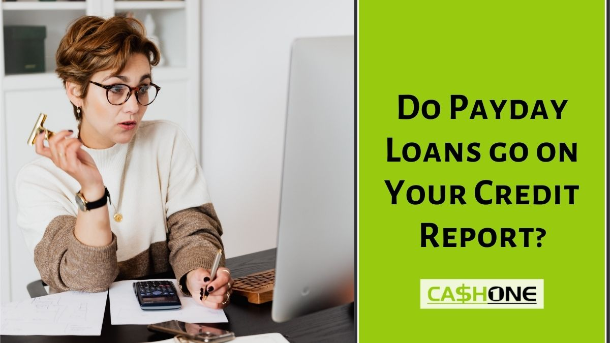 Payday Loans on Credit Report