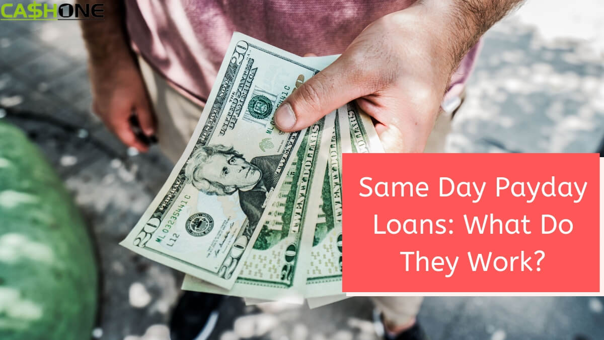 Same Day Payday Loan