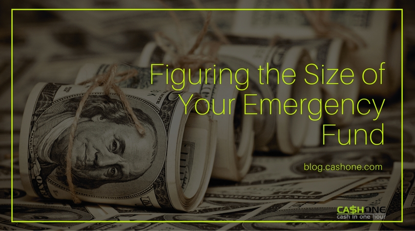 Figuring the Size of Your Emergency Fund