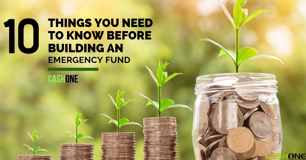 Things You Need To Know Before Building an Emergency Fund
