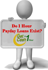 Do 1 hour payday loan exist