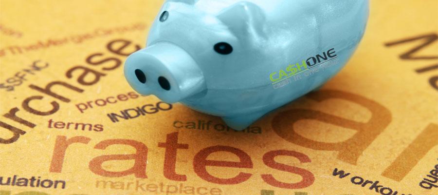 cash advance interest rates
