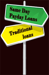 Same Day Payday Loan vs Traditional Loans