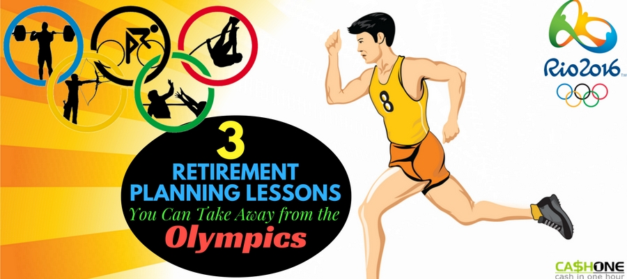 3 Retirement planning lessons from olympics