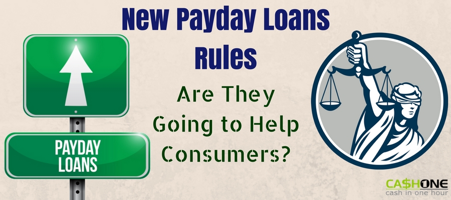 New Payday Loans Rules