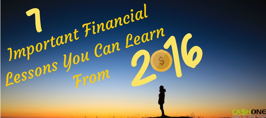 Important Financial Lessons from 2016