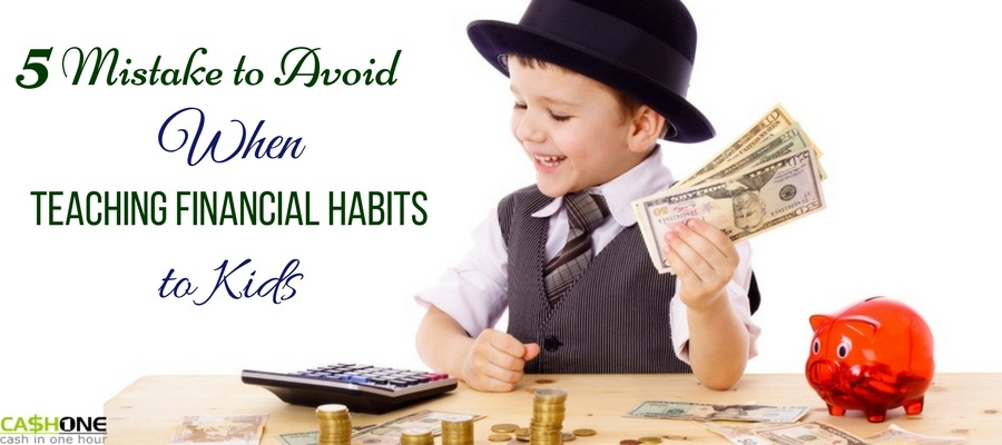 Mistakes to avoid when teaching financial habits to kids