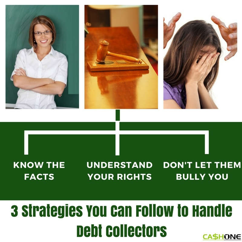3 Strategies You Can Follow to Handle Debt Collectors