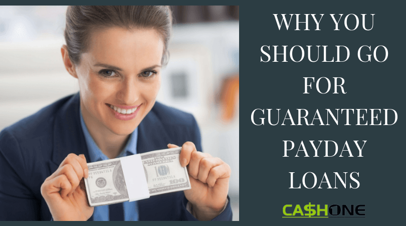 Guaranteed Online Payday Loans